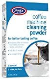 : Urnex Coffee Maker and Espresso Machine Cleaner Cleancaf Powder - 3 Packets - Safe On Keurig Delonghi Nespresso Ninja Hamilton Beach Mr Coffee Bruan and More
