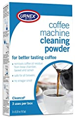 Cleancaf Coffeemaker Cleaner eliminates residual coffee oils and buildup in automatic coffeemakers and espresso machines that can turn rancid and cause brewed coffee to taste bitter. Simple and effective, using Cheancaf is as easy as brewing ...