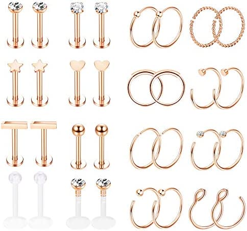 Jstyle Stainless Piercing Cartilage Earrings product image