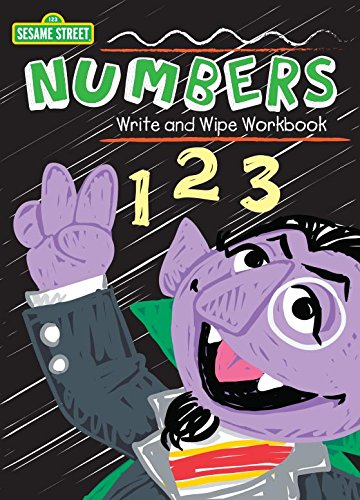 Sesame Street Write & Wipe Workbooks - Numbers