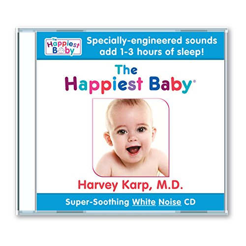 The Happiest Baby on the Block New Super Soothing Calming Sounds CD (now ... with 5 great sounds!)