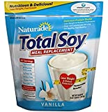 Total Soy-Naturade Soy Meal Replacement New Formula, 59.58oz Vanilla Flavor