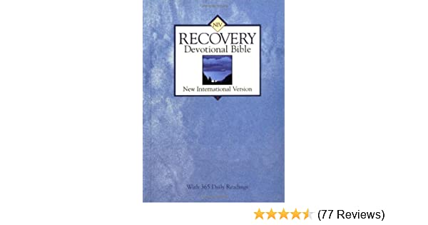 Niv Recovery Devotional Bible Verne Becker 9780310916000 Amazon