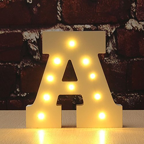 Wood Letters for Wall Decor with Lights: Amazon.com
