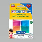 Babycup Baby and Toddler First Cup, Trainer Cups for Sipping and Aids Weaning, 4 Babycups 50ml