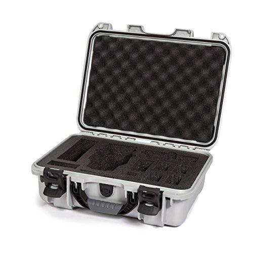 Nanuk DJI Drone Waterproof Hard Case with Custom Foam Insert for DJI Mavic PRO - Silver