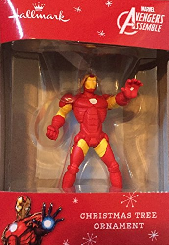 Hallmark Marvel Avengers Assemble Ironman Christmas Ornament (Marvel Avengers Collectible Stand compare prices)