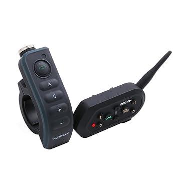 ejeas × 6/BT nterphone motocicleta Bluetooth Intercom casco de motocicleta auricular Bluetooth, manos