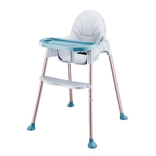 Trona con Bandeja/Silla alta de mesa para niños Silla alta de bebé ...