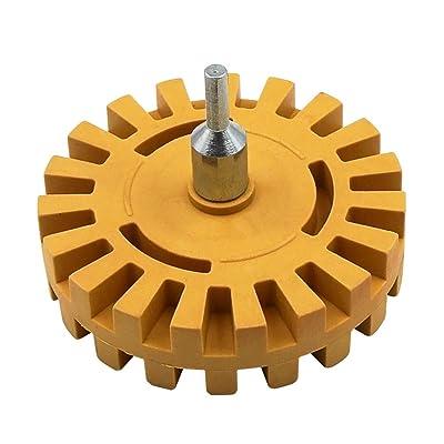 Alexsix Pneumatic Degumming Wheel Rubber Grinding Tire Polishing Wheel Tool Cuisine & Maison