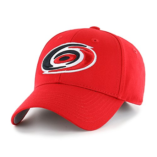 NHL Carolina Hurricanes OTS All-Star MVP Adjustable Hat, Red, One -