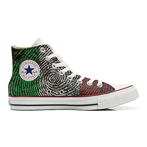 Personalizados Zapatos All Producto Americana con Artesano Bandera la Customized Converse USA Star qtIwxfBwS