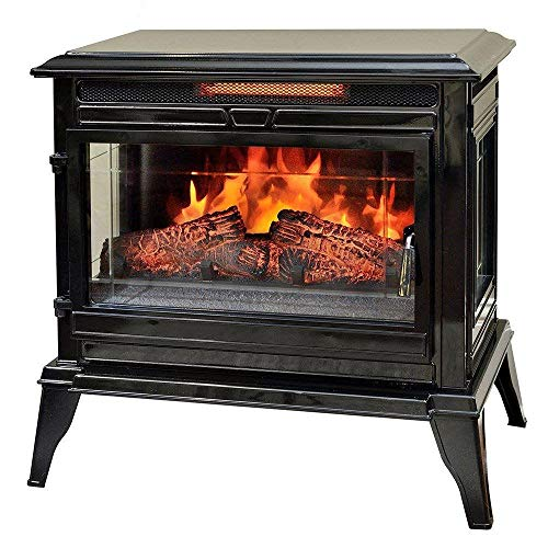 Cheap Black Portable Electric Fireplace Stove Infrared Heater Black Friday & Cyber Monday 2019