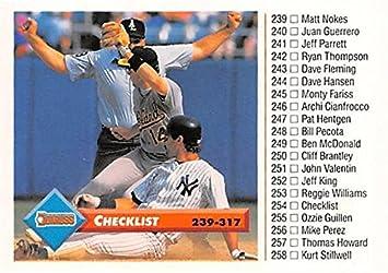 Don Mattingly Baseball Card New York Yankees Mvp All Star 1992