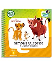 LeapFrog - The Lion King Simba's Surprise Book - LeapStart 3D Story Book - 462303, Yellow