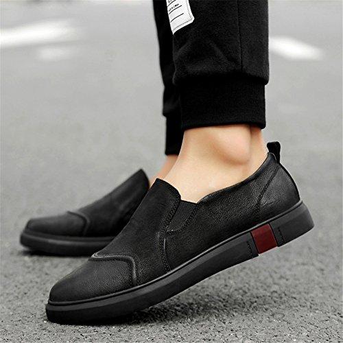 Ons de Do para Comfort Caminar Slip Otoño Zapatos Primavera Mocasines Zapatos Cuero Zapatos Hombres para Conducción y qxwUnaPqz6