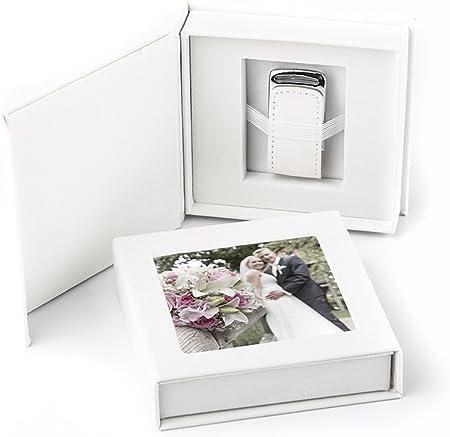 Memoria USB 3.0 de 16 GB en Elegante Caja USB con Ventana de Imagen. para Bodas, fotógrafos, Recuerdos de Vacaciones, Regalo.: Amazon.es: Hogar