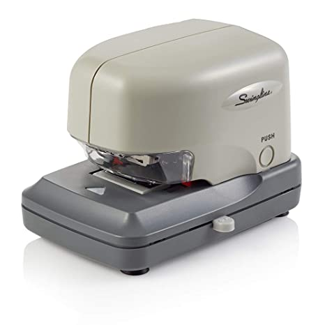 Swingline 69001 Swingline 690e High-Volume Electric Stapler, 30 Sheet Capacity, Gray Staplers & Punches at amazon