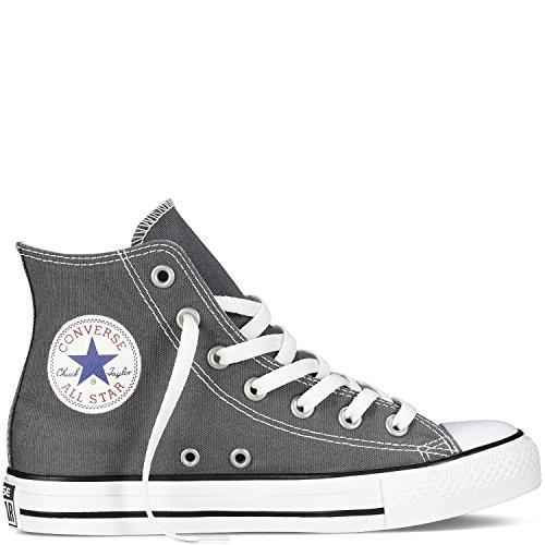 好ましい統治可能環境に優しいMens C Taylor A/S HI Sneakers (5.5 (MEN'S) / 7.5 WOMEN'S) US Charcoal) [並行輸入品]