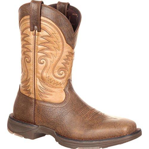 Durango Men's DDB0109 Western Boot, Vintage Brown, 11.5 W -
