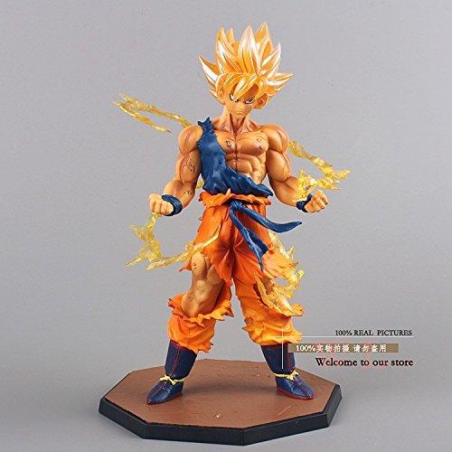 Anime-Dragon-Ball-Z-Super-Saiyan-Son-Goku-PVC-Action-Figure-Collectible-Toy-17CM-DBFG071