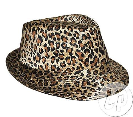 Cappello maculato leopardato misura unica  Amazon.it  Giochi e ... 41b2d6a862ab