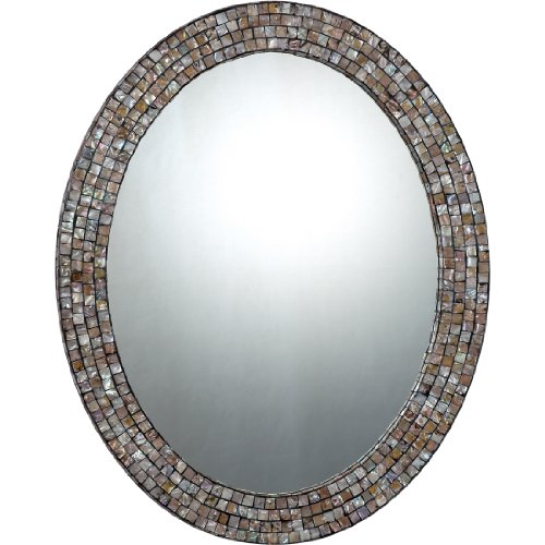 Quoizel QR1253 Quoizel Reflections Mirror (Shell Mosaic Table Lamp)
