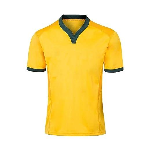 Axdwfd Traje de Rugby Traje de Rugby, 2018-19 Camiseta Australiana ...