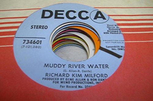 RICHARD KIM MILFORD 45 RPM Muddy River Water / - Mall Milford