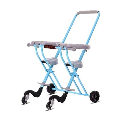 Groovy Amazon Com Xuexue Double Trolley Universal Wheel Light Creativecarmelina Interior Chair Design Creativecarmelinacom