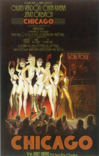 Chicago Poster (Broadway) (14 x 22 Inches - 36cm x 56cm) (1975) -(Chita Rivera)(Gwen Verdon)(Jerry Orbach.) (Chicago Window Poster compare prices)