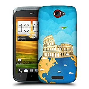 Head Case Designs Colosseum Journey Around the World Protective Snap-on Hard Back Case Cover for HTC One S by ruishername