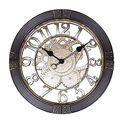 Westclox NYL32947 16 Gears Wall Clock Bronze