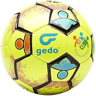 Gedo Balsol 1601 Balón de Fútbol, Unisex niños, Amarillo, Talla ...