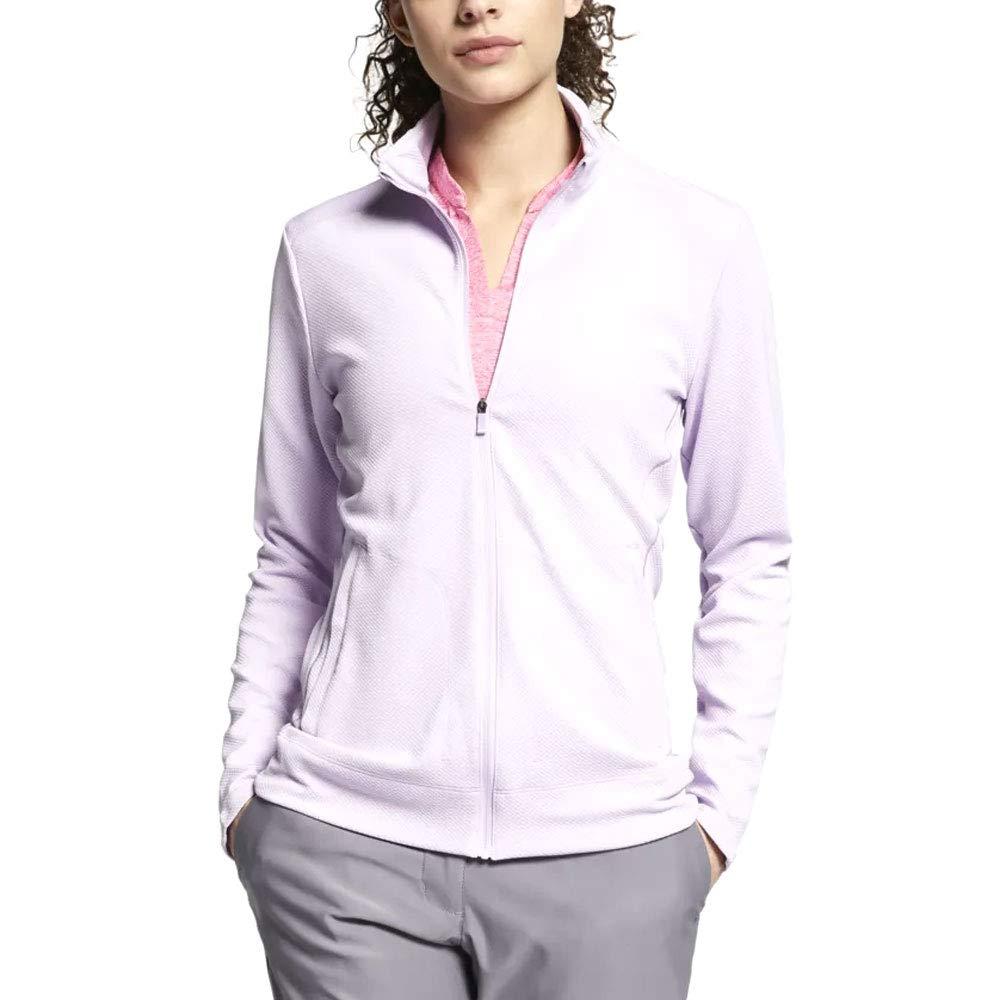 Nike Dri Fit UV OLC Golf Jacket 2019 Women Lilac Mist Large