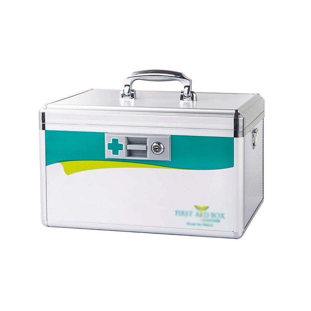 + メディカルボックス家族の多機能安全薬箱アルミ合金ロックロック薬箱医療の応急処置ボックスエンタープライズ多層のスタイルの医療保管ボックスが言及することができます ## (サイズ さいず s) : S s) + B07KJCD4MC (サイズ Medium Medium, おしごと工房:539beeb1 --- mail.tastykhabar.com