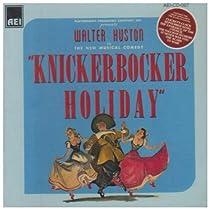 Knickerbocker Holiday (Cast Recording)