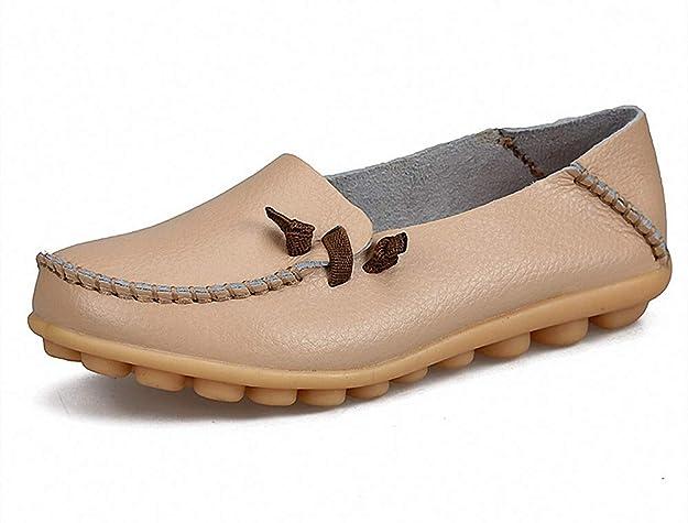 YoCool Women's Penny Boat Shoes