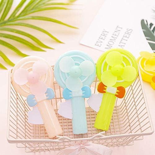 PAN-EX Ventiladores eléctricos A715 portátil de Mano de Dibujos Animados Mini Lollipop Ventilador de Juguete: Amazon.es: Hogar