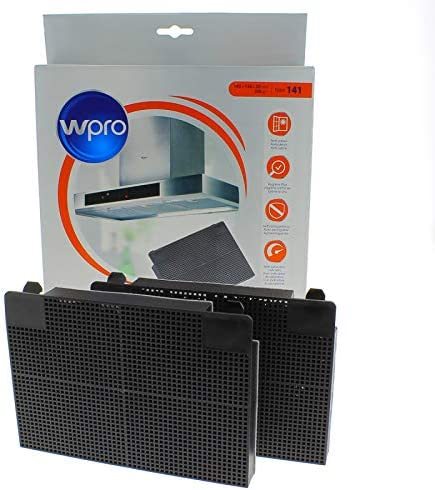 Filtro carbón rectangular (195 x 140 x 20 mm para campana, X2: Amazon.es: Grandes electrodomésticos