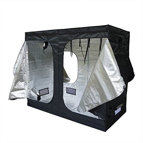 ECO-WORTHY 96''X48''X80'' Mylar Hydroponics Grow Tent New for Indoor Plant Growing by ECO-WORTHY