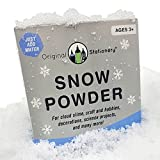 Instant Snow Powder [2 gallons] Creates Slushie Fake Snow. Use with Slime, Daiso Clay and Floam Beads to Make Cloud Slime. Discover The Wonders of Sodium Polyacrylate Powder