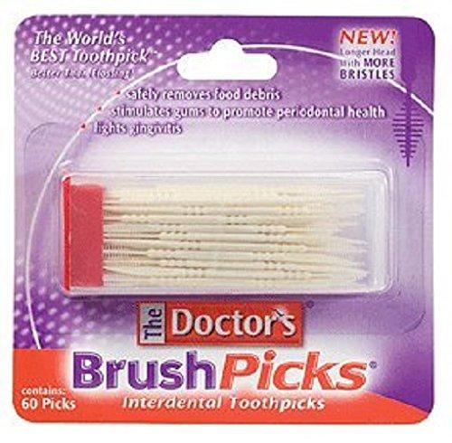 The Doctor's RDC10195089 Brushpicks Toothpicks, 12 Count