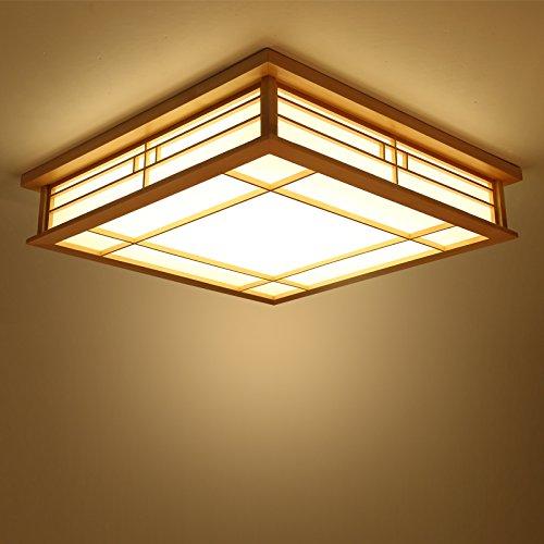 LYXG Japanische Deckenleuchte LED Lampen Massivholz tatami Licht ...