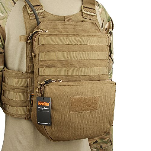 EXCELLENT ELITE SPANKER Tactical MOLLE Hydration Pack for 3L Hydration Water Bladder Molle Vest Accessory