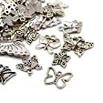 30g x Tibetan Silver Mixed Charms Pen...