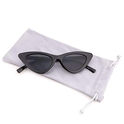 79be833e89 Creamily Vintage Cat Eye Sunglasses for Boys Girls Plastic Frame Clout  Goggles Retro Mod Style Junior