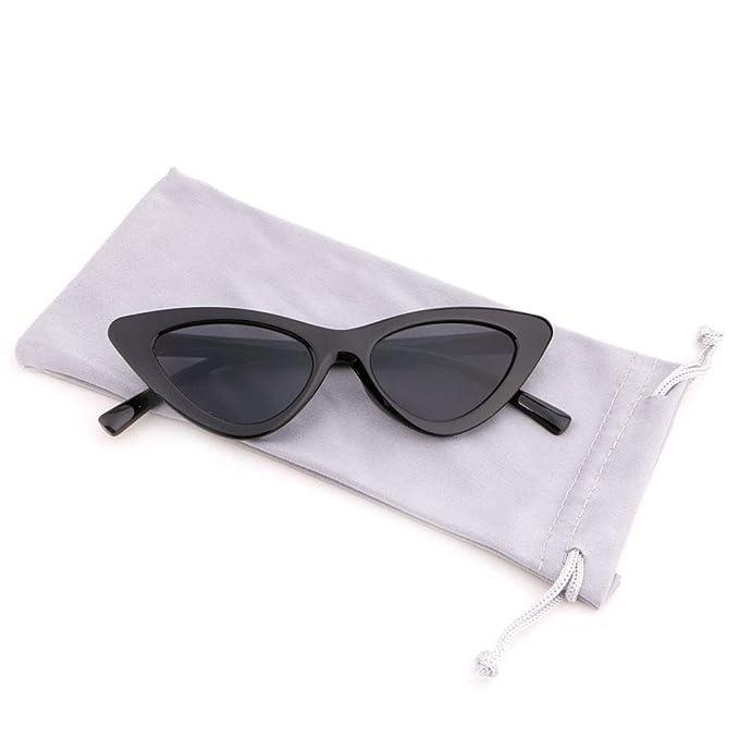 Amazon.com: creamily anteojos de anteojos de ojo de gato ...