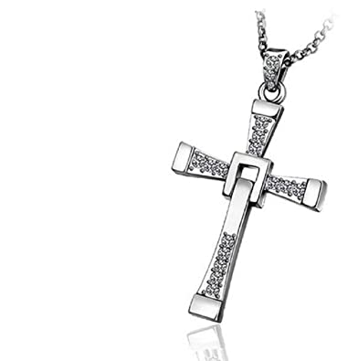 mejor sitio hermosa en color elige genuino Collar con colgante cruz crucifix and Fast Furious Vin Dominic Toretto  Diesel