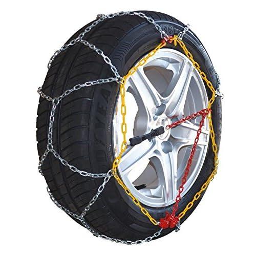 Chaine à neige Eco 9mm pneu 215/60R17 montage rapide - Boite comprenant 2 chaines neige